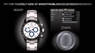 Titan Black - Bespoke Wristwatch Specialists