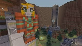 Minecraft Xbox - Halo Hunger Games