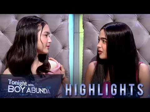 TWBA: Andrea Brillantes and Francine Diaz recall the start of their respective showbiz careers