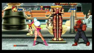 Street Fighter Sheng Long Is In Another Castle, Cammy Vs Akuma Arcade Hd Remix 360 Boss