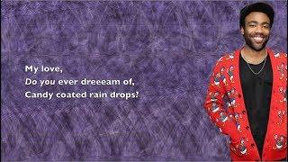 Childish Gambino - Candy Rain - Lyrics