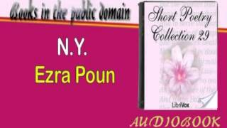 N. Y. Ezra Poun Audiobook Short Poetry