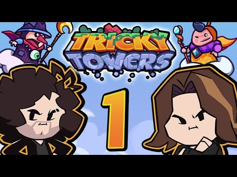Tricky Towers Like Tetris But Not PART 1 Game Grumps VS
