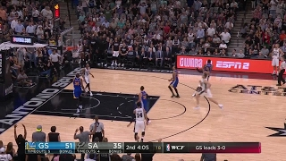 Quarter 2 One Box Video :Spurs Vs. Warriors, 5/21/2017
