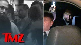 Leonardo DiCaprio Celebrates Oscar Win -- Drinking & Vaping | TMZ
