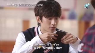 (Eng sub) Jinyoung's cut in Celebrity Bromance Gongchan and Hongbin Ep 1