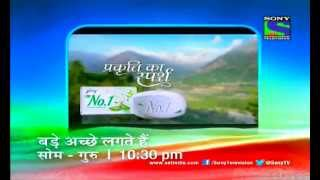 SONY Entertainment TV Ad Pack : Week of July 26th, 2013 (1)