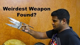 Ancient Scissor Knife (Katar) - Weird Weapons of India