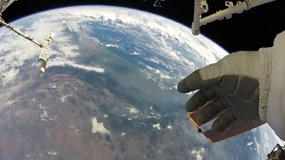 NASA astronaut takes in 'earth's beauty' from space