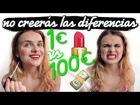 Xxx Mp4 MAQUILLAJE DE 1€ VS MAQUILLAJE DE 100€ Marina Yers 3gp Sex
