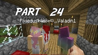 Family Game Nights Plays: Minecraft Part 24 - An Amazing spawn (PC)
