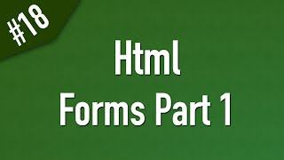 Learn Html in Arabic #18 - Form Elements Part 1
