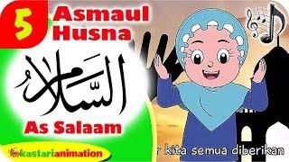 LAGU ASMAUL HUSNA ARTI AS SALAAM bersama Diva Kartun Lagu Anak Islami | Kastari Animation Official