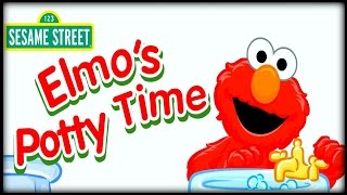 ELMO'S Potty Time - Toddler and Infant Potty Training Game for Kids!