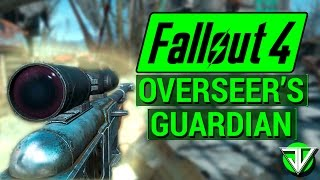 FALLOUT 4: How To Get OVERSEER'S GUARDIAN Sniper Rifle! (Unique Weapon Guide)