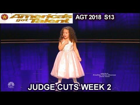 Xxx Mp4 Sophie Fatu 5yo Singer FULL PERFORMANCE New York New York America 39 S Got Talent 2018 Judge Cuts 2 AGT 3gp Sex