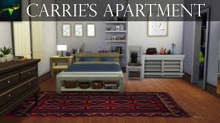 Carrie Bradshaw's apartment 245 east 73 St. - NYC | The Sims 4 speed build