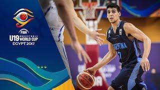 South Korea v Argentina - Live - FIBA U19 Basketball World Cup 2017