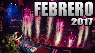 MÚSICA ELECTRÓNICA FEBRERO 2017 , Lo Mas Nuevo / Con Nombres (N° 1)
