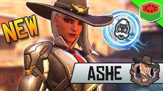 ASHE - NEW BEST DPS HERO Gameplay! | Overwatch