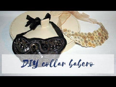 DIY Como hacer un collar babero