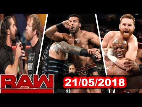 Xxx Mp4 WWE Raw 21st May 2018 Highlights Results Review 3gp Sex