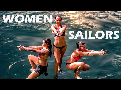 ALL GIRL CREW SAIL TO VANUATU 106