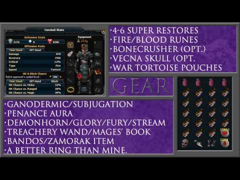 Runescape EoC: Solo Bandos Guide Using Magic