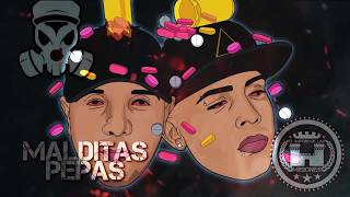 Juanka El Problematik Ft Sniper Sp - Malditas Pepas [Lyrics Video]