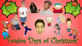 "Disney,Family Guy and More Sing ""The 12 Days Of Christmas"""