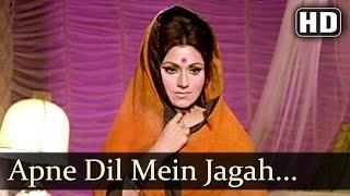 Apne Dil Mein Jagah Dijiye - Bindu - Anil Dhawan - Hawas - Bollywood Songs - Usha Khanna