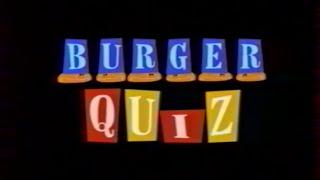Burger Quizz N°1