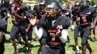 Youth Football - highlights - (PLAYOFFS) 120s Liberty City Warriors vs Overtown Tornadoes