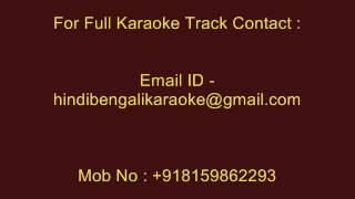 Sara Janam Dhoira Bidhi - Karaoke - Kumar Sanu - Sujon Kanai