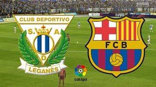 La Liga 2018/19 - Leganes Vs Barcelona - 26/09/18 - FIFA 18