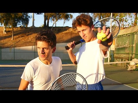 TERRIBLE TENNIS PLAYERS Rudy Mancuso & Juanpa Zurita