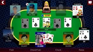 Bermain Texas Hold'em Poker Online!