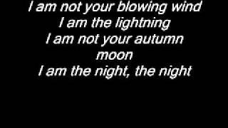 Audioslave - I Am The Highway (Lyrics)