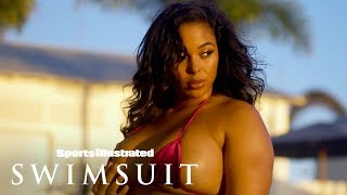 Tabria Majors Gets Wet In Jaw-Dropping Belize Photoshoot | Intimates | Sports Illustrated Swimsuit