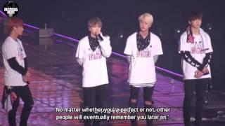 [ENG] 160508 SUGA 슈가 Ending Ment - 방탄소년단 BTS 화양연화 Epilogue Concert Day 2