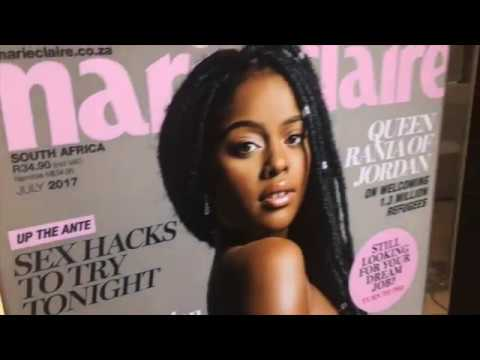 SEEING NAKED CELEBS at the Marie Claire Naked Issue!
