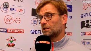Southampton 1:0 Liverpool - Jurgen Klopp post-match interview