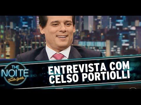 The Noite 10 07 14 parte 1 Entrevista Celso Portiolli