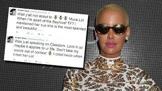Amber Rose Denies Dissing Beyonce After Defending Kim Kardashian