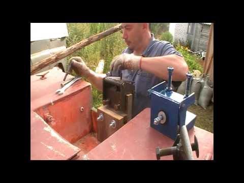 Установка лодочных моторов болотоходов bawad Готовим покатушки