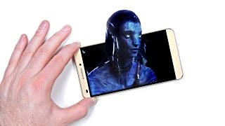 See 3D Without Glasses On Your Phone!