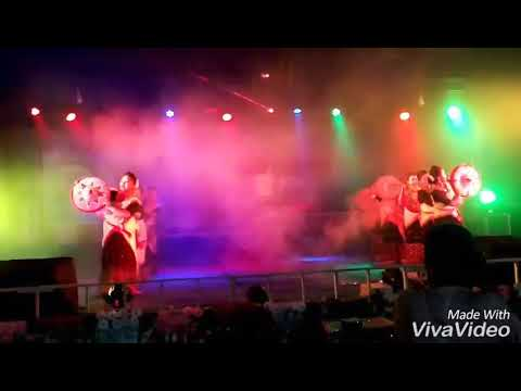 Japi dance performed in Duliajan girl's college
