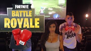 Playing Fortnite in CINEMA/ Boxing Call Out