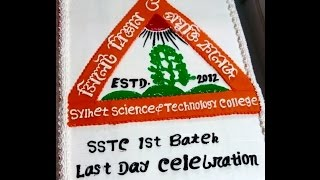 Last Day Celebration - 1st Batch of SSTC (2014-2015)