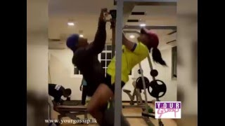 Nadeesha hemamali @ Gym